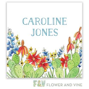 Southwestern Flora Gift Sticker