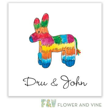 Viva Florals Enclosure Card
