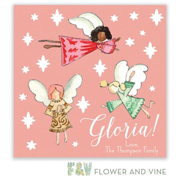 Gloria Angels Gift Sticker