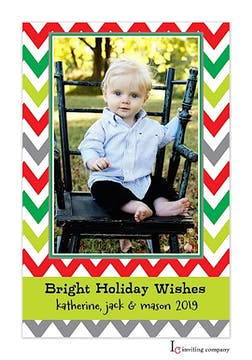 Berry Brights Holiday Flat Photo Card
