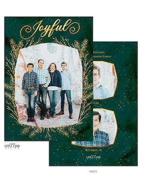 Joyful Branches Holiday Photo Card