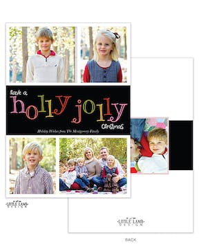 Holly Jolly Holiday Photo Card