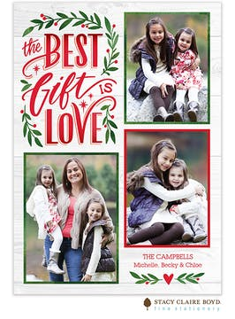 The Best Gift Holiday Photo Card