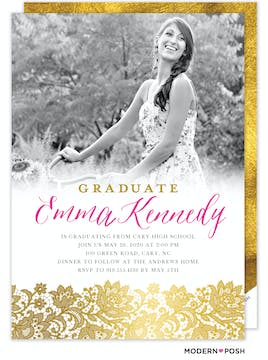 Brilliant Photo Graduation Card