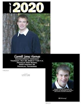 Photo grad announcement