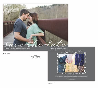 Cutout Photo Save The Date