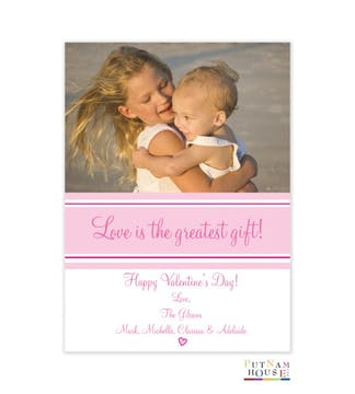 Valentine Photo Card