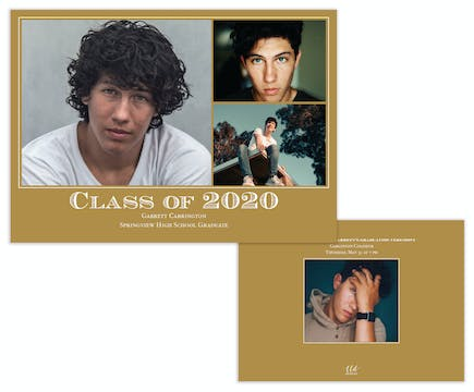 Best of Class Photo Card Announcement