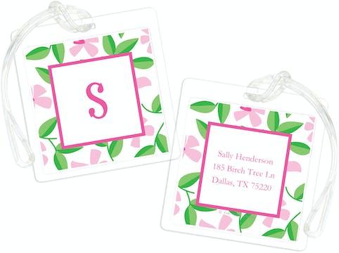 Pink Blossom ID Tag