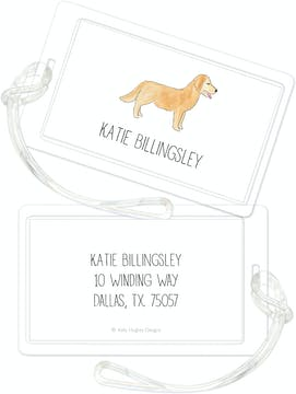 Furry Friends ID Tag - Click Personalize to Choose from Different Animals