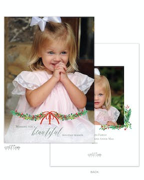 Beautiful Season Holiday Photo Card