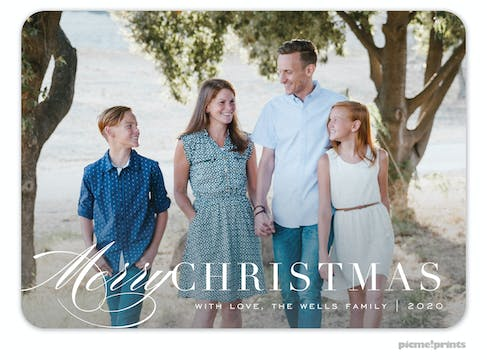 Signature Season Holiday Photo Card