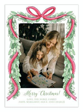 Lush Garland Digital Photo Card