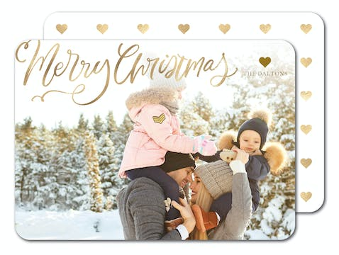 Christmas Luster Holiday Photo Card