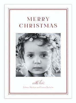 Season to Shine Foil Pressed Digital Photo Card