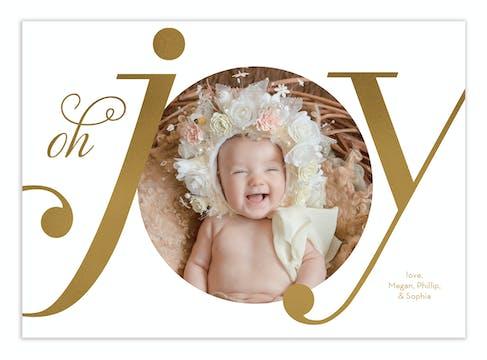 Oh Joy Foil Pressed Digital Photo Card