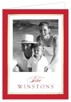 Family Name Digital Photo Card