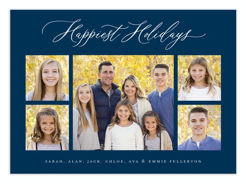 Family Frames Digital Photo Card