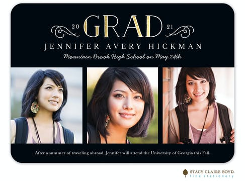 Accomplished Grad Photo Card