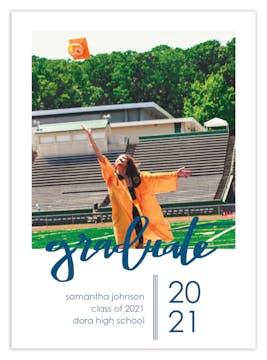 Graduate Photo Card