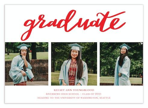 Graduate (multi-photo) Photo Card