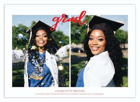 Grad Photo Card