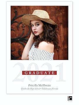 Graduate Banner Photo Graduation Announcement