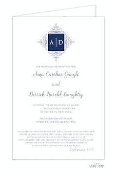 Elegant Medallion Folded Program