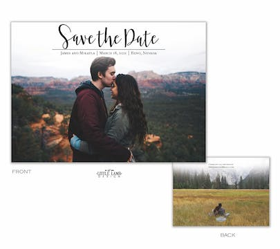 Meant to Be Save the Date-Photo