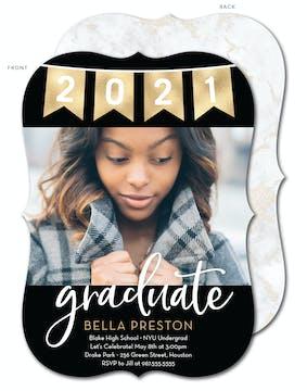 Banner Graduate Photo Card