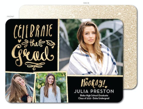Celebrate the Grad Photo Card