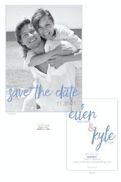 Tulum Photo Save The Date