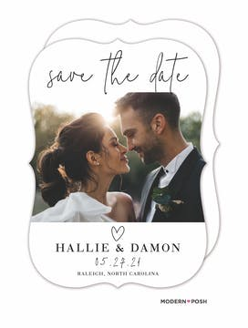So In Love Save The Date-Photo