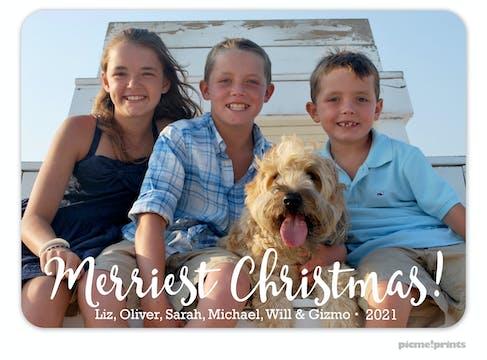 Big Merriest Christmas! Holiday Photo Card
