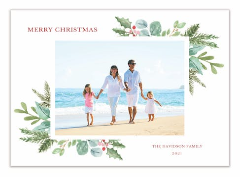 Magical Season Holiday Photo Card