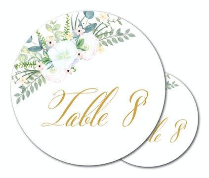 Carolina Table Card