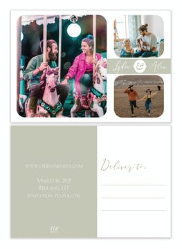 Moments Photo Save the Date Postcard