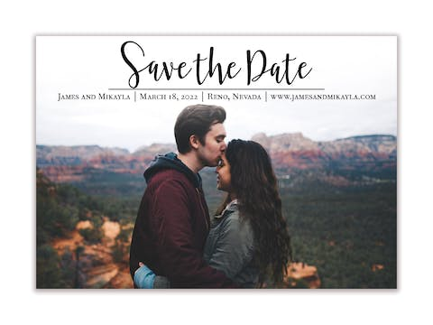Meant to Be Save the Date-Magnet