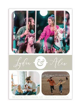 Moments Photo Save the Date Magnet