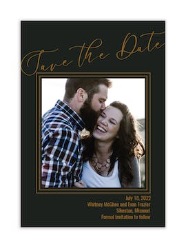 Delta Photo Save the Date Magnet