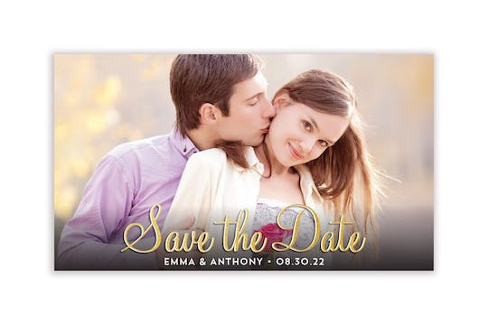 Photo Insert Photo Save The Date Magnet
