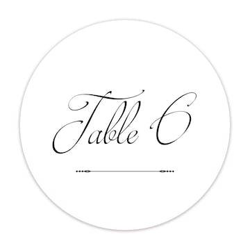 Cutlass Table Card