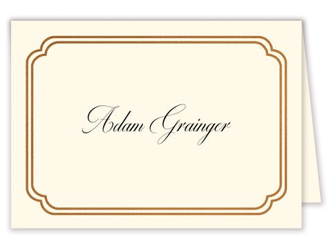 Double Frame Placecard