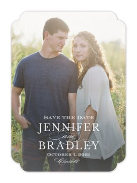 Headliner Save The Date Photo Card
