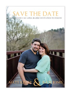 Simply Lovely Photo Save The Date