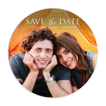 Treasured Photo Save the Date