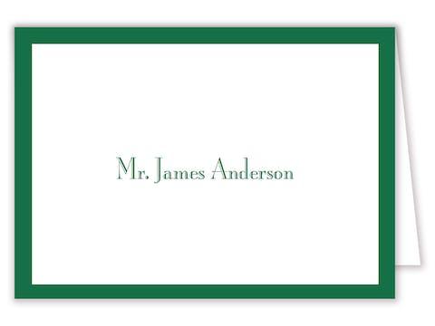 Green Svelte Placecard