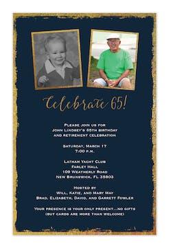 Framed Celebration Invitation