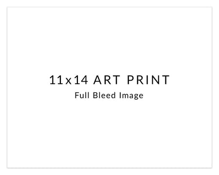 DIY 11 x 14 Art Print Horizontal