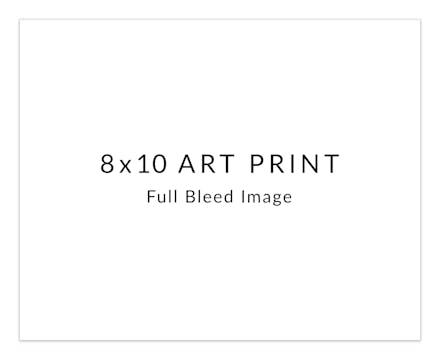 DIY 8 x 10 Art Print Horizontal